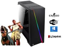 Computador Gamer I5, 8gb Ddr3, Ssd 120Gb, Placa Video 2gb Ddr3 Com Brindes - Lupi info