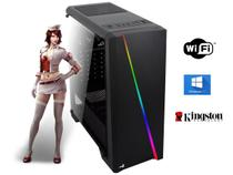 Computador Gamer I5, 8gb Ddr3, Ssd 120Gb, Placa Video 2gb Ddr3 Com Brindes - Mymax pegasus