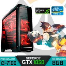 Computador Gamer Intel Core i3-7100 RAM 8GB GTX 1050 HD 1TB Windows 10 - Alfatec