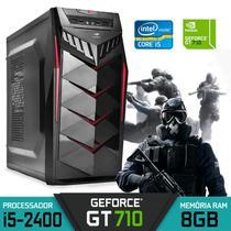 Computador Gamer Intel Core i5-2400 GT 710 RAM 8GB HD 500GB Windows 10 - Alfatec