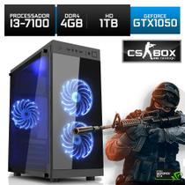 Computador Gamer Neologic CS BOX Intel  i3-7100  Gtx 1050 4Gb 1Tb  - Nli7018