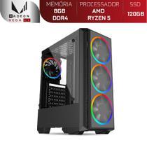 Computador Gamer Skill AMD Ryzen 5 3400G 4.2Ghz, Radeon RX VEGA 11, 8GB DDR4, SSD 120GB - Skill Gaming