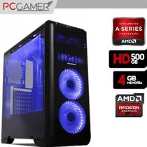 Computador Gamer Tornado, AMD A4 6300, 4GB Ram, HD 8370D, 500GB, WiFi - Alfatec