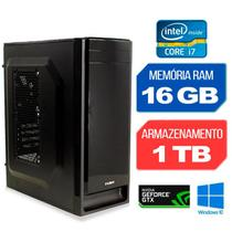 Computador Gráfico Intel Core i7-4770 Geforce GTX 1650 RAM 16GB HD 1TB Windows 10 - Alfatec