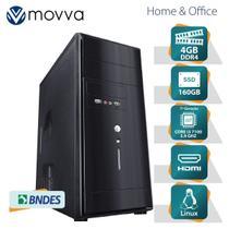 Computador HYDRO INTEL I3 7100 3.9GHZ 7A Geracao Memoria 4GB SSD 160GB HDMI/VGA Linux Fonte 200W - MVHYFI3H110S1604 - Movva