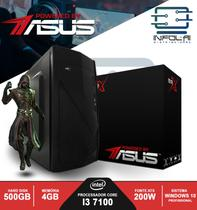 Computador I3 7100 4GB HD 500GB POWERED BY ASUS Win 10 BRX