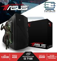 Computador I3 7100 4GB SSD 120GB POWERED BY ASUS Win 10 BRX