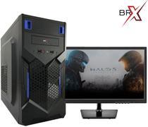 Computador i5 4gb 320gb gabinete monitor 15 fonte atx win 7 pro brpc - Br-pc