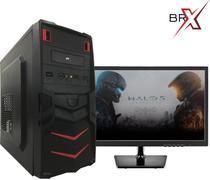 Computador I5 Com Monitor LED 4GB HD 1TB Windows 10 Pro BRPC - Br-pc