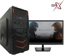 Computador I5 Com Monitor Led 8gb 1tb Windows 7 Pro BRPC - Br-pc