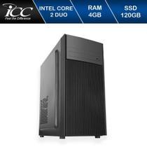 Computador Icc Intel Core 2 Duo E8400 4gb de Ram Ssd 120 Gb -