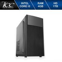 Computador ICC IV2342S Intel Core I3 3.20 ghz 4gb HD 1TB -