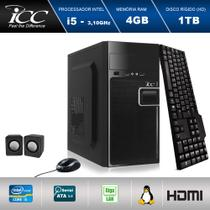 Computador  ICC IV2542k Intel Core I5 3.2 ghz 4gb HD 1 TB Kit Multimídia -