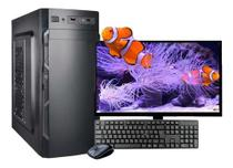 Computador Intel 8gb Ram Hd500gb C/monitor 18,5 Wifi Wind 10 -