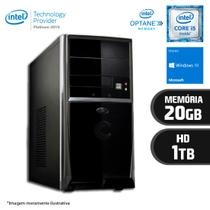 Computador Intel Core i5 7ª Geração 20GB HD 1TB Windows 10 Certo PC SELECT 055
