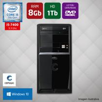 Computador Intel Core i5 7ª Geração 8GB HD 1TB DVD Windows 10 PRO Certo PC SELECT 045