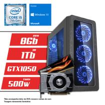 Computador Intel Core i5 7ª Geração 8GB HD 1TB GTX 1050 2GB Windows 10 SL CertoX BRAVE 5012 - Certo pc