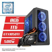 Computador Intel Core i5 7ª Geração 8GB HD 1TB GTX 1050 TI 4GB CertoX BRAVE 5013 - Certo pc