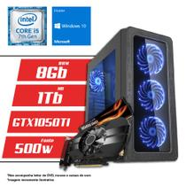 Computador Intel Core i5 7ª Geração 8GB HD 1TB GTX 1050 TI 4GB Windows 10 SL CertoX BRAVE 5014 - Certo pc