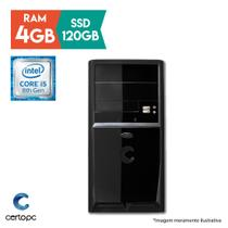 Computador Intel Core i5 8ª Geração 4GB SSD 120GB Certo PC Select 1013