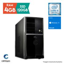 Computador Intel Core i5 8ª Geração 4GB SSD 120GB Windows 10 SL Certo PC Select 1014