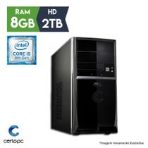 Computador Intel Core i5 8ª Geração 8GB 2TB Certo PC Select 1019