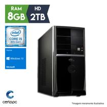 Computador Intel Core i5 8ª Geração 8GB 2TB Windows 10 SL Certo PC Select 1020