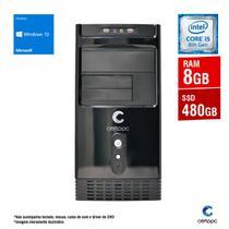 Computador Intel Core i5 8ª Geração 8GB SSD 480GB Windows 10 SL Certo PC Select 1029 -