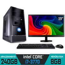 Computador Intel Core i7-3770 RAM 8GB SSD 240GB Monitor 19,5'' WI-FI Windows 10 - Alfatec