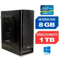 Computador Intel Core i7-4770 RAM 8GB HD 1TB Windows 10 - Alfatec