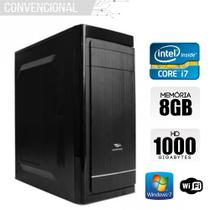 Computador Intel Core i7, 8GB Ram, HD 1TB, Wifi, Windows 7 - Alfatec