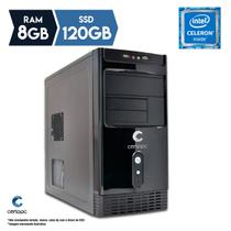 Computador Intel Dual Core J1800 2.58GHz 8GB SSD 120GB Certo PC FIT 1131