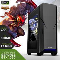 Computador Neologic Gamer Moba Box Amd FX6300, Geforce Gtx 1050, 500gb, 4gb,  - Nli67052