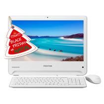 Computador Pc  All In One Positivo Union Celeron N2808 4gb Hd 500gb Branco - Novo de Vitrine -