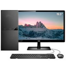 """Computador PC Completo Intel 10ª Geração Monitor LED 19.5"""" 8GB SSD 240GB HDMI 4K Áudio 5.1 canais Skill DC -"""