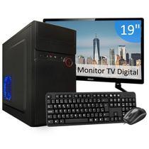 Computador Pc Completo Intel i5 3Geração 8GB SSD 240GB Wi-fi -