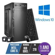 Computador PC CPU Intel Core i5 8Gb 2Tb Windows 10 Kit BestPC -