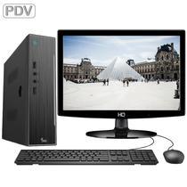 Computador PDV Completo com Monitor Intel Dual Core 2.58Ghz 4GB HD 320GB Serial RS-232 HDMI 3green ThinPC -