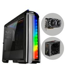 Computador Transform to PC Gamer (GeForce GTX 1060 6GB) Fonte 500W 80 Plus Bronze Gabinete C22 Upgrade Kit WorldPC - Easypc