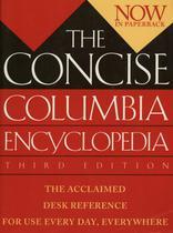 Concise columbia encyclopedia - Houghton Mifflin -