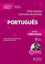 Concursos Públicos - Português Para Concursos - 3ª Edição (2020) - Juspodivm -