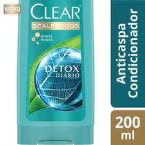 Condicionador Anti-Caspa Clear Detox Diário - 200ml -