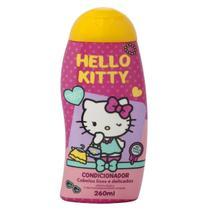Condicionador cabelos lisos e delicados hello kitty 260ml cia da natureza -