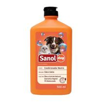Condicionador Neutro Sanol Dog 500 ml -