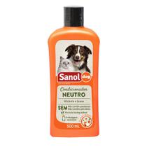 Condicionador Neutro Sanol Dog para Cães e Gatos - Total Química (500 ml) - Sanol - Total Química