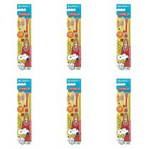 Condor Snoopy Escova Dental C/ Protetor 0a2 Anos (Kit C/06) -