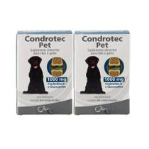 Condrotec Pet 1000mg 60 comprimidos Syntec KIT 2 unidades -