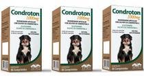 Condroton 1000 Kit 3 Unidades - Vetnil
