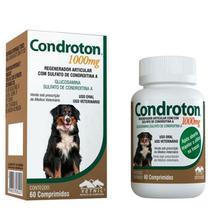 Condroton 1000 Mg Para Cães - 60 Comprimidos Vetnil -