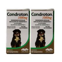 Condroton 1000mg 60 comprimidos KIT 2 unid Vetnil -